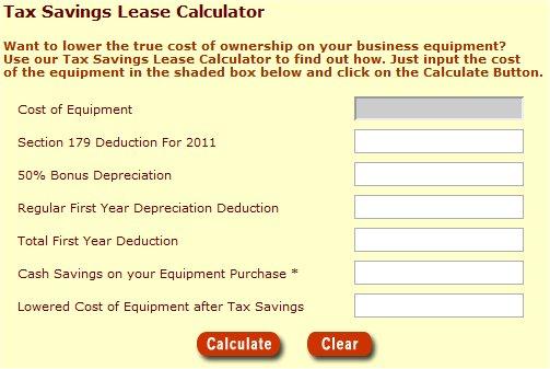 lease calulator